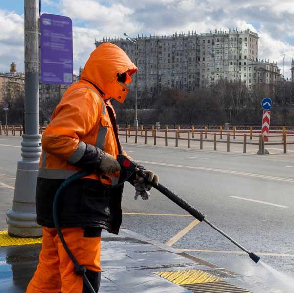 Sanificazione strade emergenza covid-19